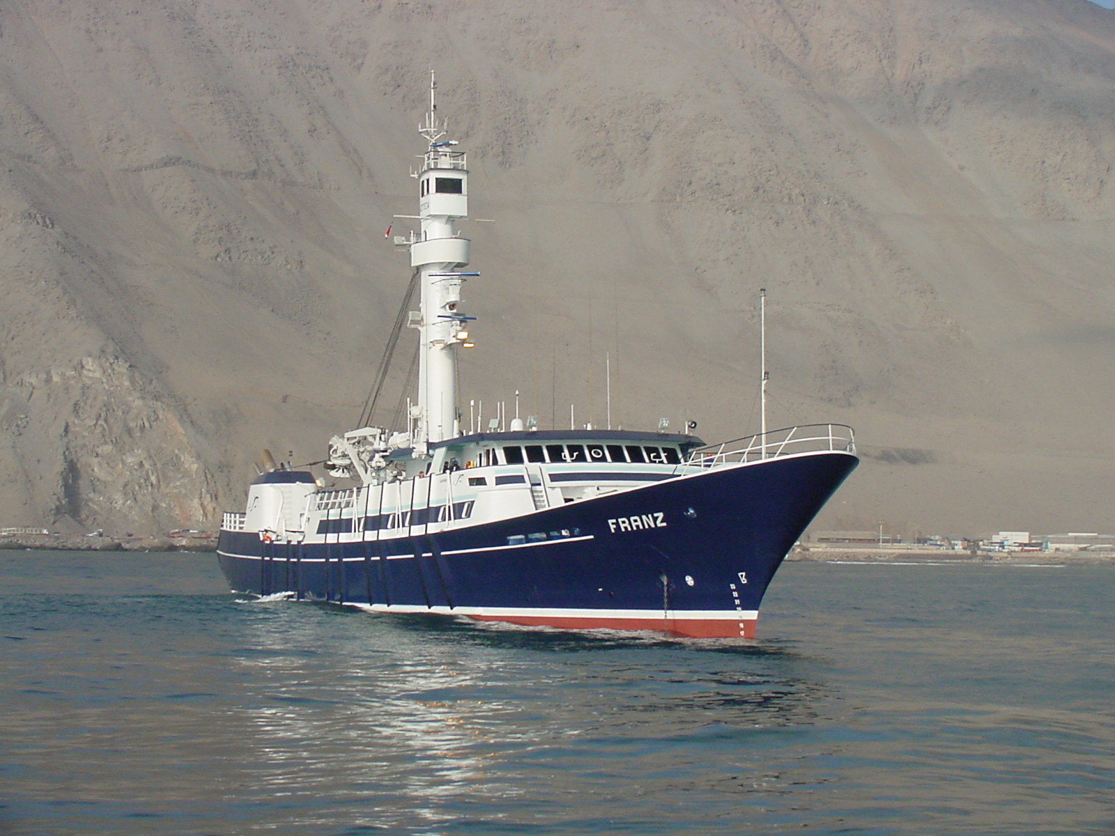 First Tuna vessel project in South America